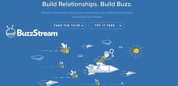 Buzzstream screenshot