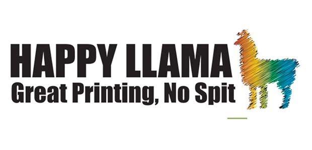 Happy Llama Logo