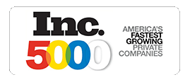 Inflow is proud to be on the Inc. 5000 list of America's fastest growing private companies.