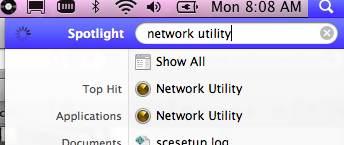 spotlight network utility