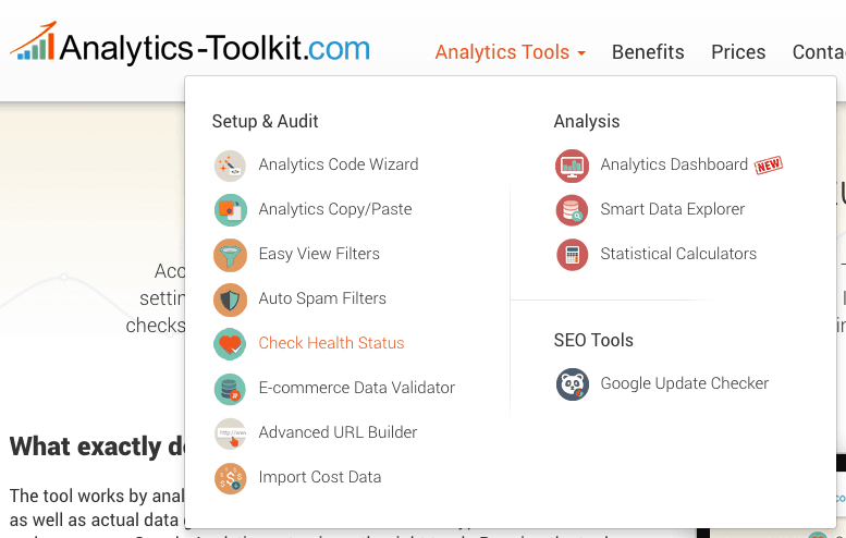 Google Analytics Toolkit