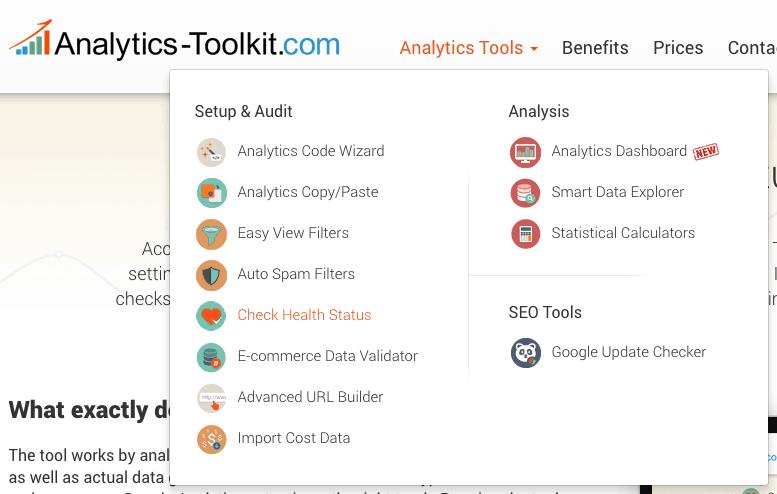 Google Analytics Toolkit