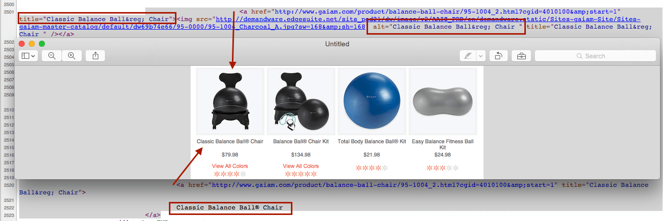 Gaiam Balance Ball Chair Category Page Code