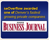 seOverflow awarded one of Denver's fastest growing private companies