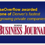 seOverflow Awarded One of Denver's Fastest Growing Companies, 3rd Year in a Row