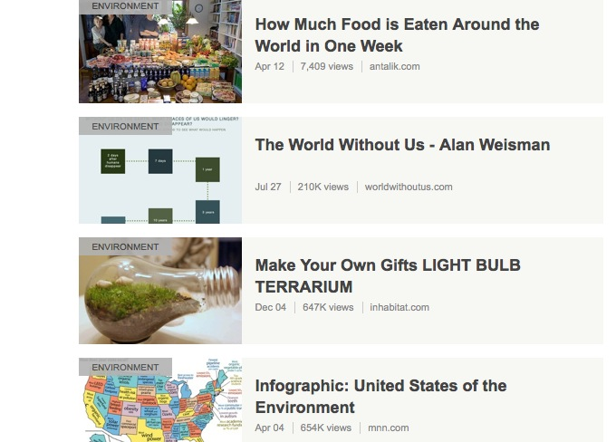 stumbleupon popular in environment