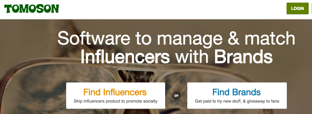 Tomoson: Software to Manage and Match Influencers with Brands