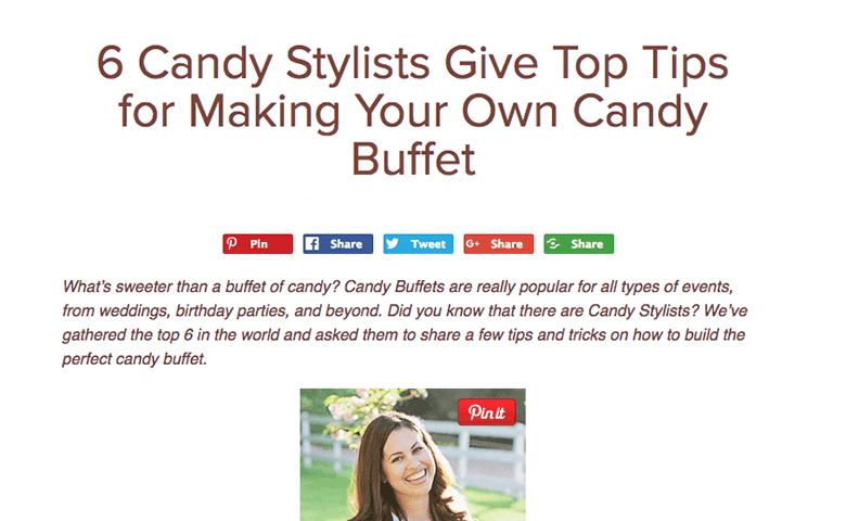 Candy stylist multi-expert blog post from candy direct