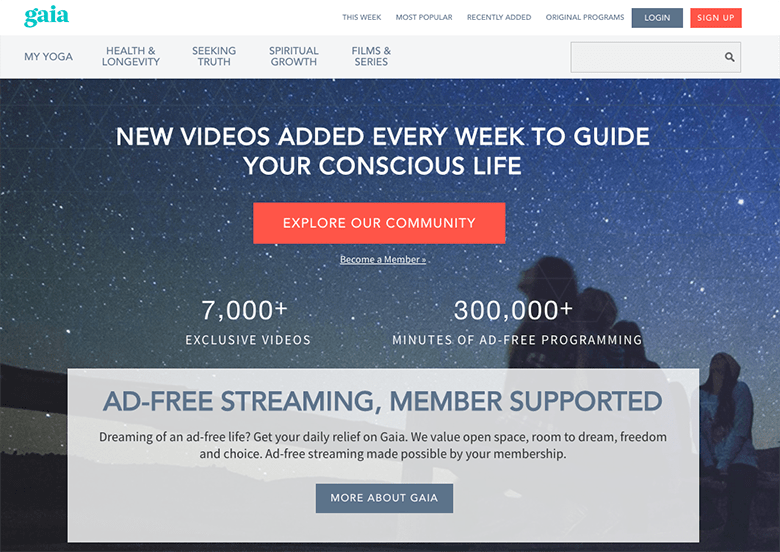 Gaia TV Inbound Marketing Case Study