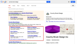 sitelinks in SERPS