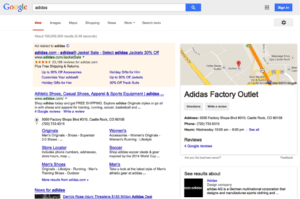 sitelinks for branded searches