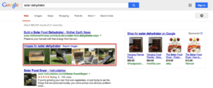 image links in SERPS