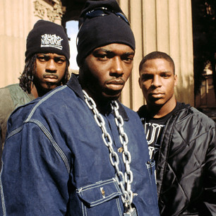 Undated photo of Naughty by Nature. Don't worry, they don't hate 'cha.