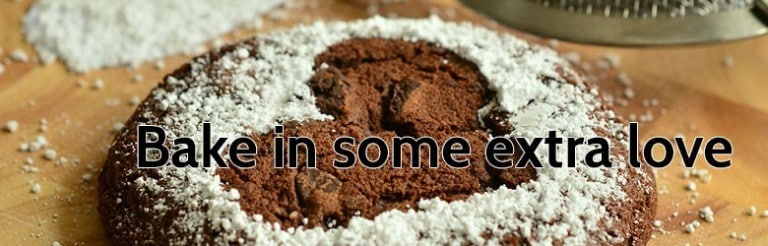 bake in some extra love.