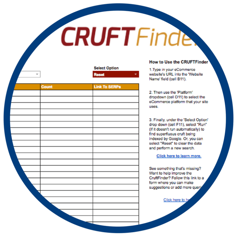 CruftFinder Resources Image