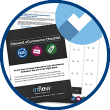 Inflow's inbound for eCommerce checklist