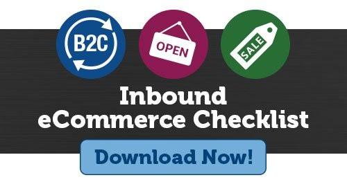 Inbound ecommerce Checklist. Download Now!