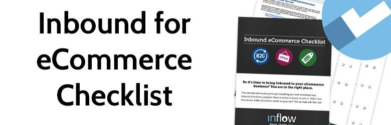 inbound for ecommerce checklist