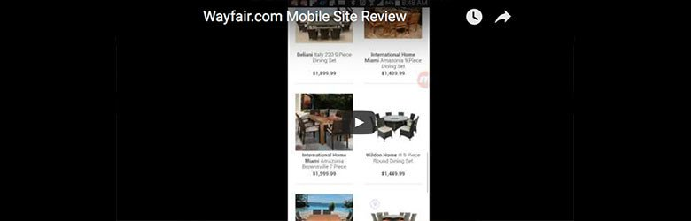 wayfair mobile best in class video
