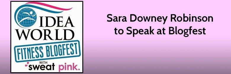 sara downey robinson to speak at blogfest