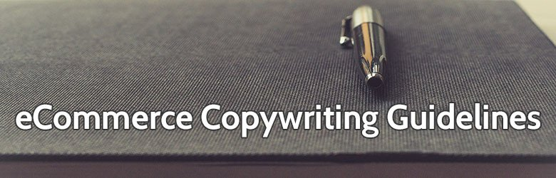 ecommerce copywriting guidelines