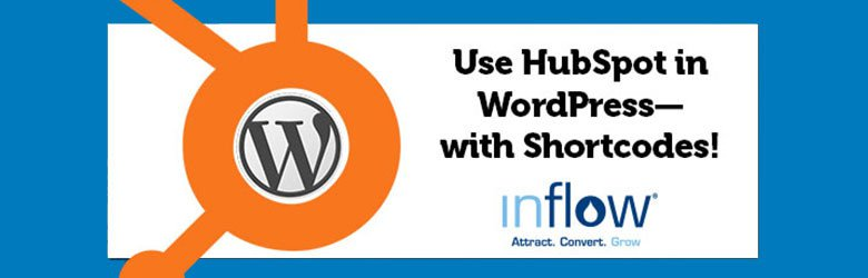 use hubspot in wordpress with shortcodes