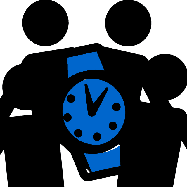 Time and test participants