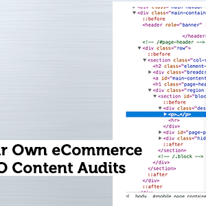 Scraping Your Own eCommerce Site for SEO Content Audits