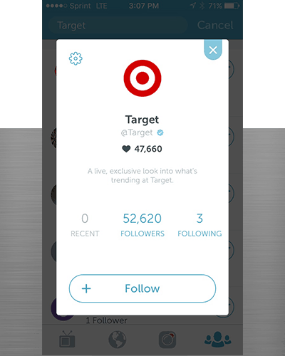Periscope for eCommerce brand Target