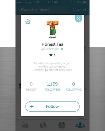 Honest Tea on Periscope