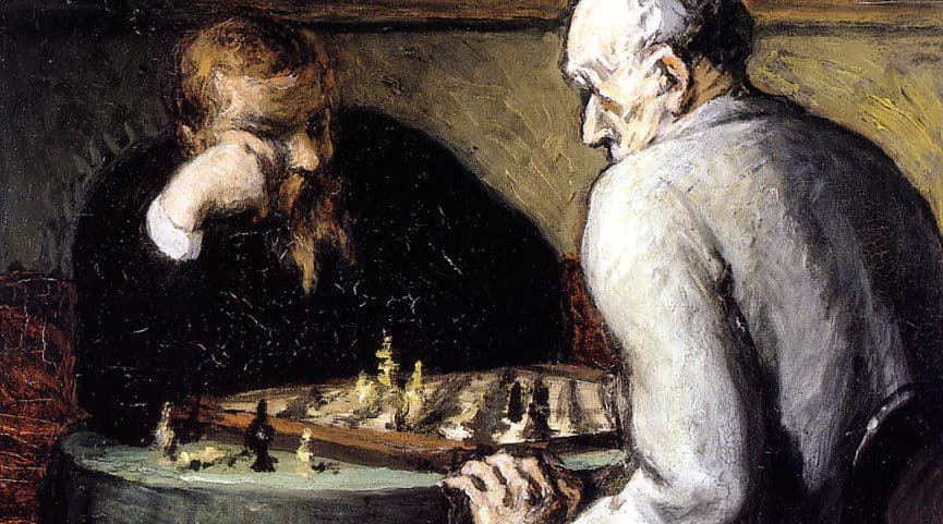 Honore Daumier image from Wikimedia Foundation