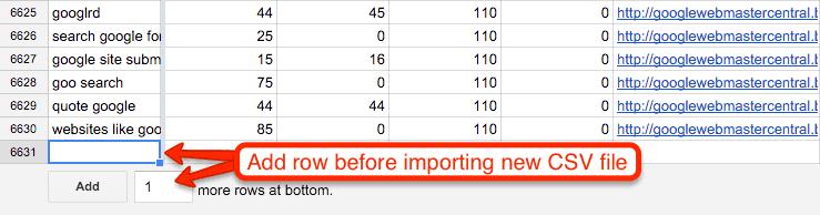 Importing CSV File Instructions: SEMRush