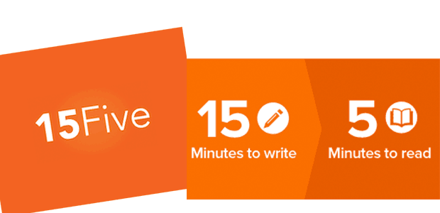 15Five Management tool - 15 minutes to write, 5 minutes to read
