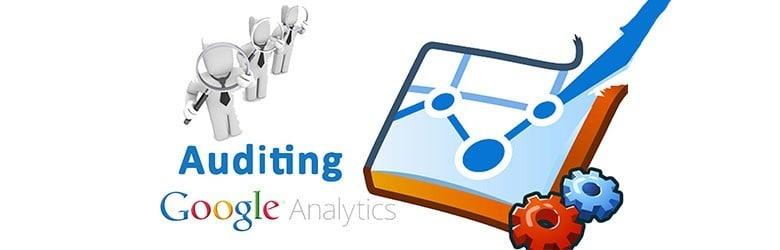 Auditing Google analytics.