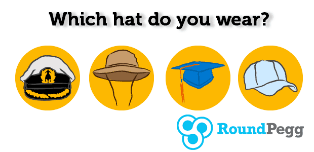 Which hat do you wear?