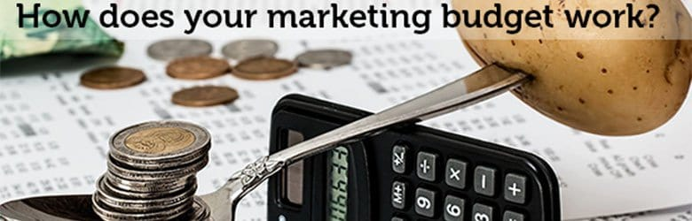 how does your marketing budget work
