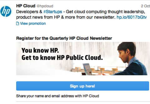 HP Cloud Offer