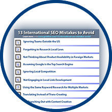 13 International SEO Mistakes to Avoid Checklist