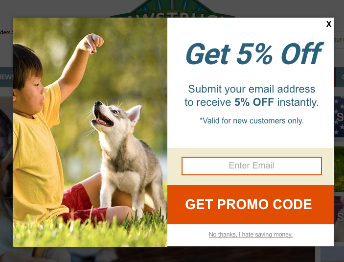 Pawstruck Offer Popup