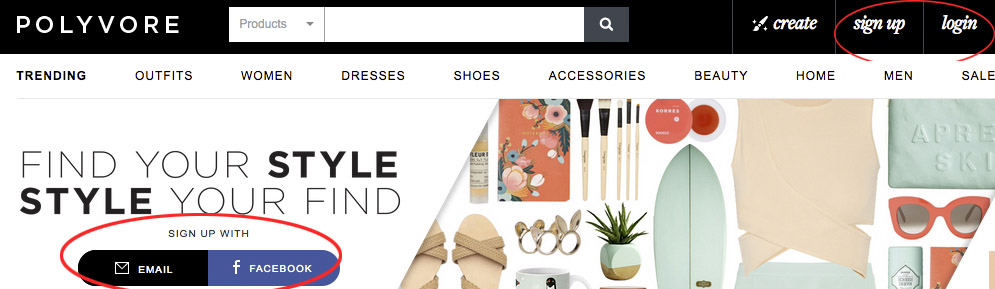 Polyvore Online Shopping Community