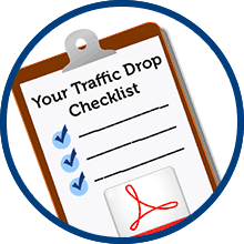 traffic drop checklist pdf