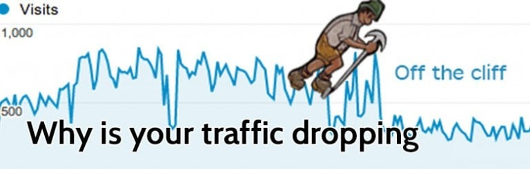 why is your traffic dropping.