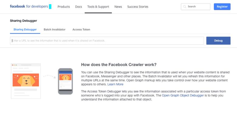 facebook debugger for og tags