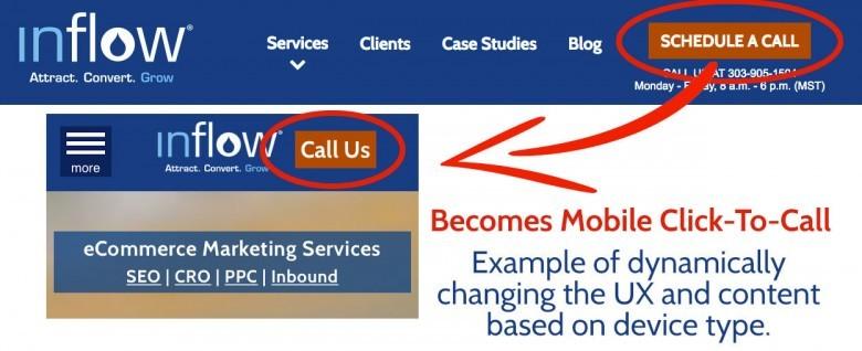 Mobile Adaptive Change Example
