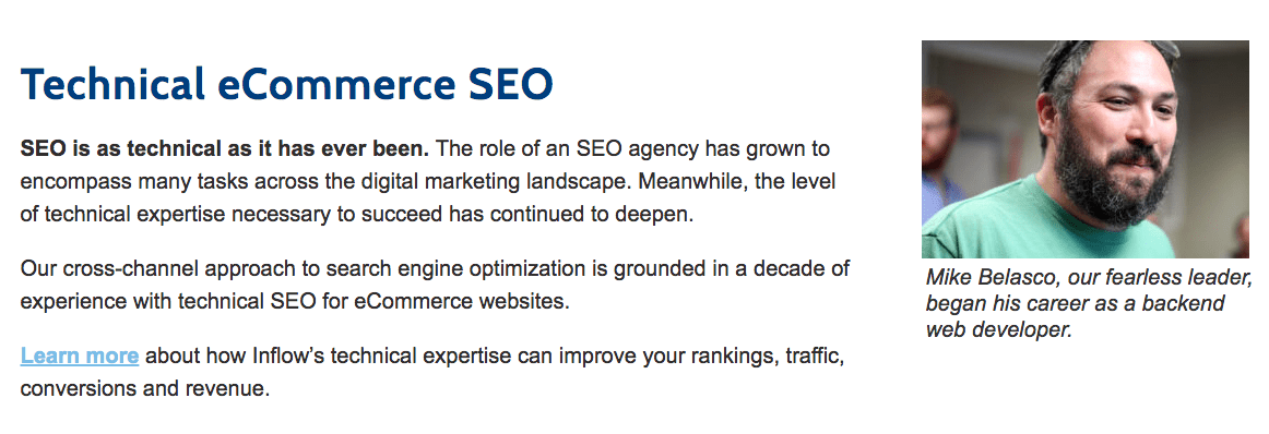 Technical eCommerce SEO Section