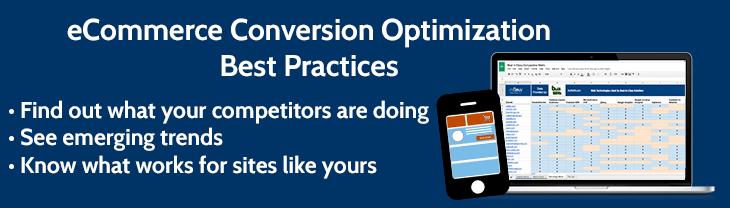 eCommerce Conversion Optimization Best Practices