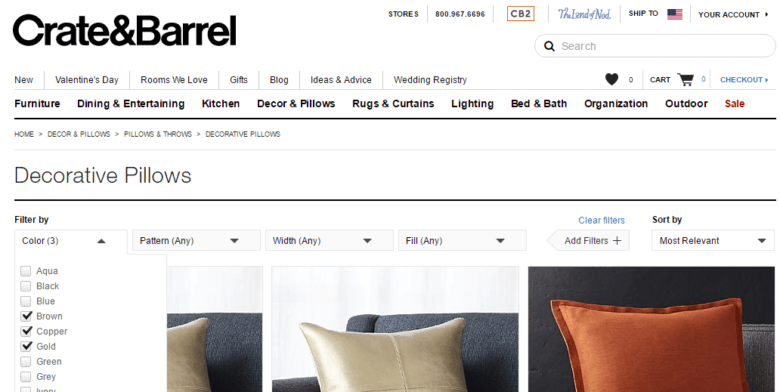 crate&barrel desktop gallery