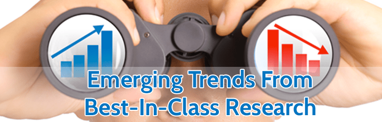 emerging trends from best in class research