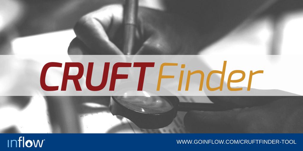 The Cruft Finder