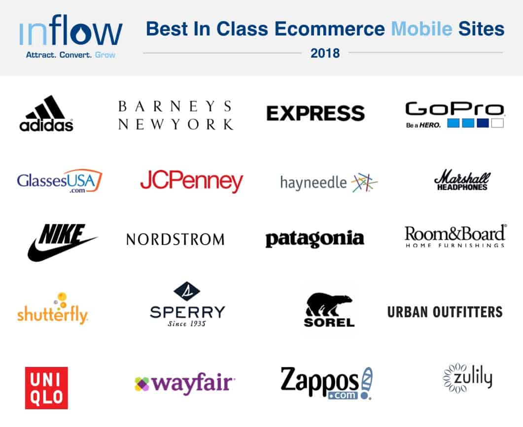 The 20 Best in Class eCommerce Mobile Sites of 2018